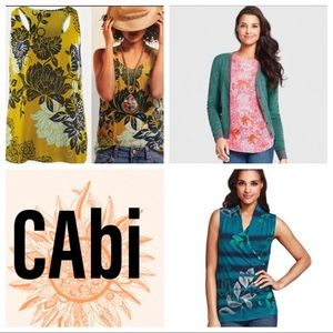 "CABI ""Not So MYSTERY"" 3 Top BUNDLE Sz: M"